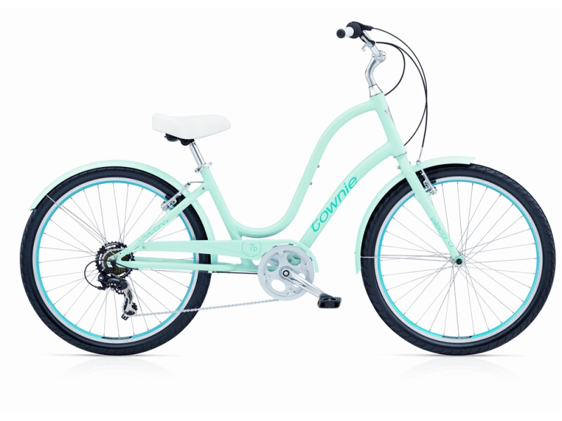 Electra Bicycle Townie Original 7D polar blue ladies'