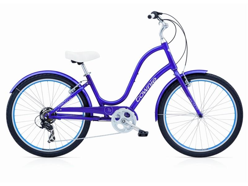 Electra Bicycle Townie Original 7D violet ladies'