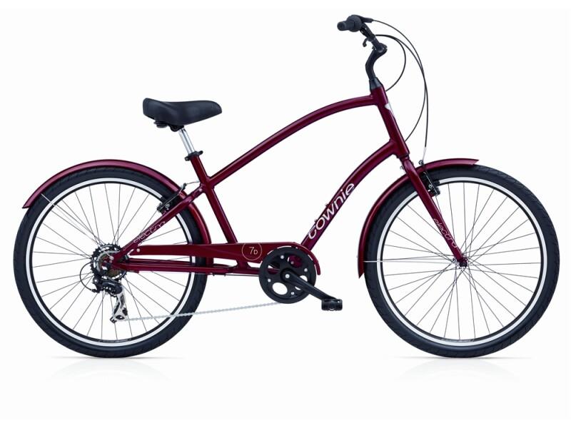 Electra Bicycle Townie Original 7D red metallic men's
