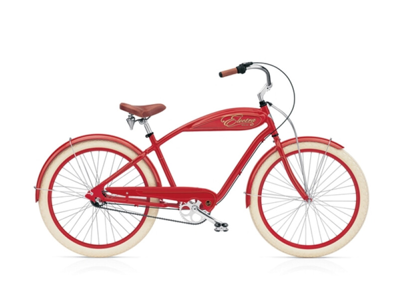 Electra Bicycle Indy 3i (Alloy) red men's