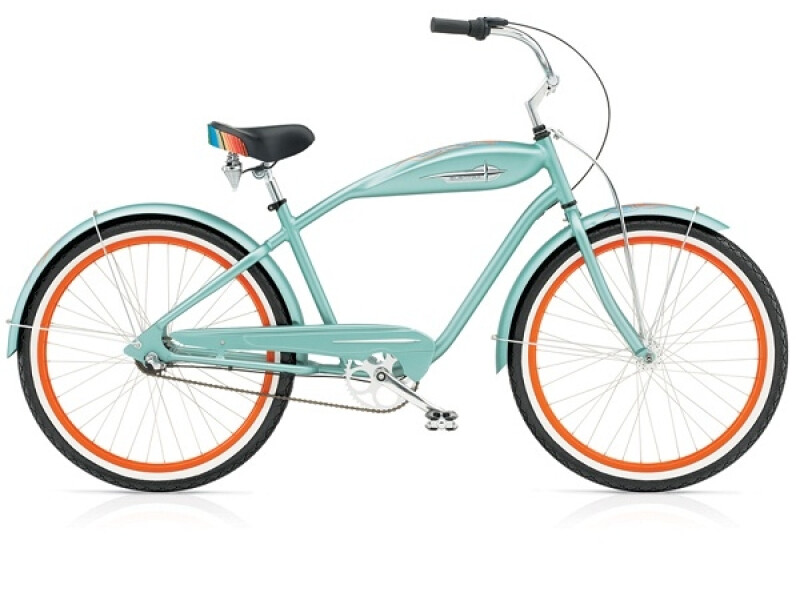 Electra Bicycle Zarape 3i (Alloy) matte petrol men's