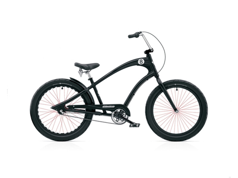 Electra Bicycle Straight 8 8i black men's