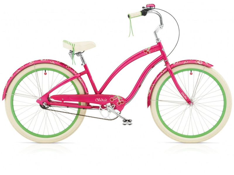 Electra Bicycle Cherie 7i hot pink ladies'