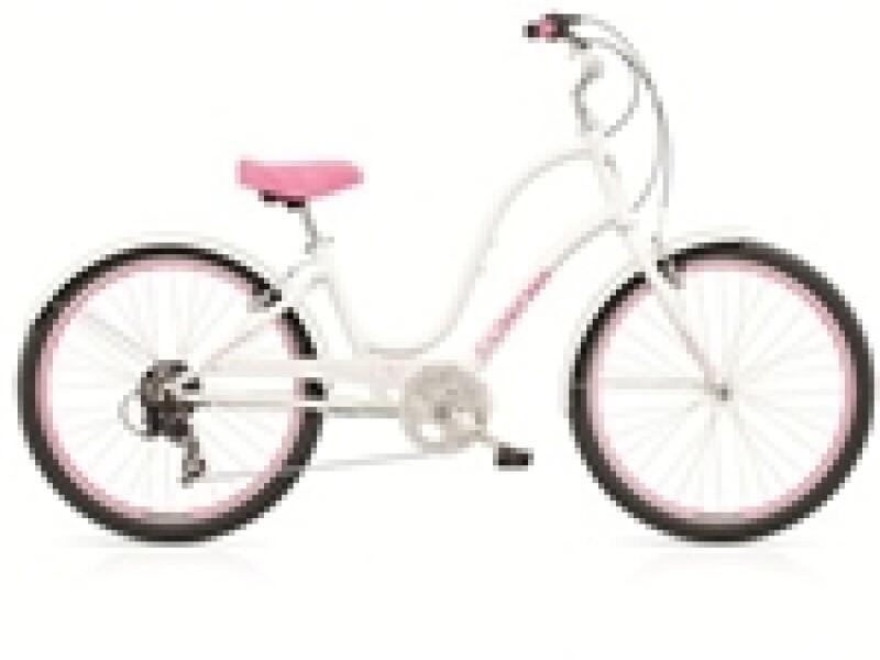 Electra Bicycle Townie Original 7D white ladies'