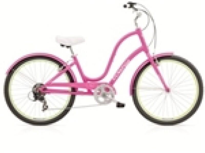 Electra Bicycle Townie Original 7D fucshia ladies'