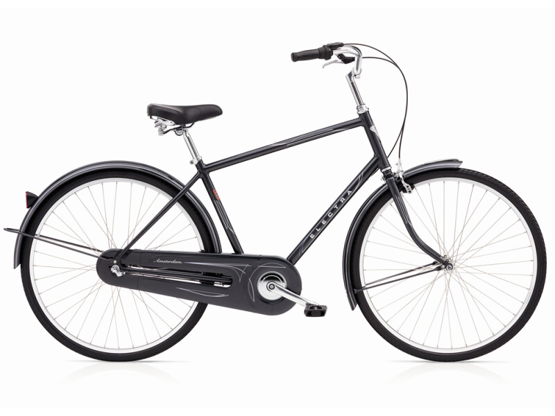Electra Bicycle Amsterdam Original 3i charcoal metalic men´s