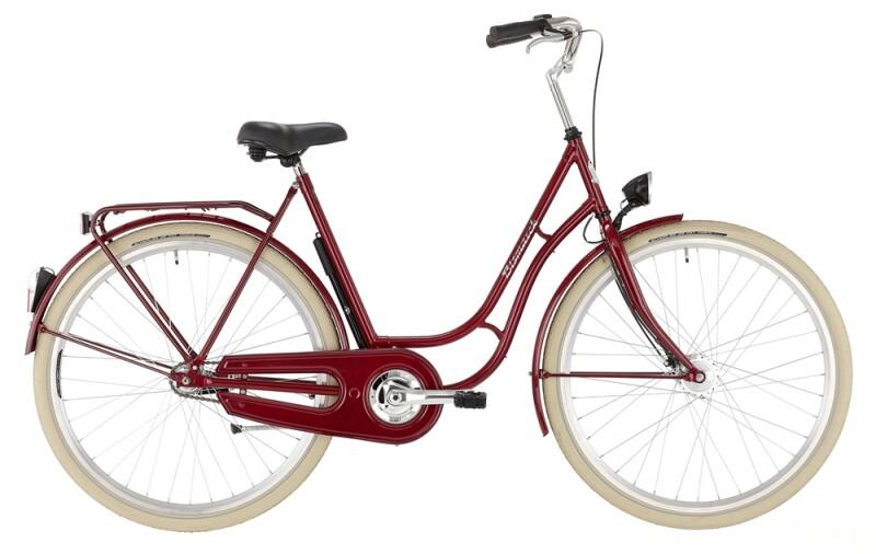 Bismarck Damen rotmetallic Citybike