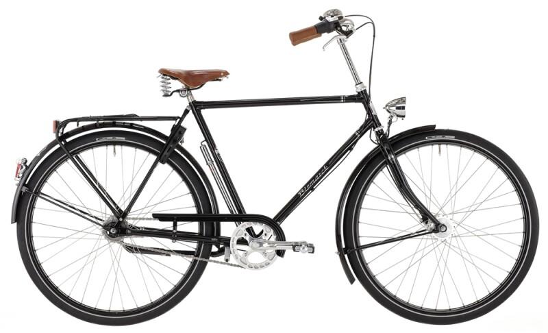 Bismarck Herren Schwarz Citybike