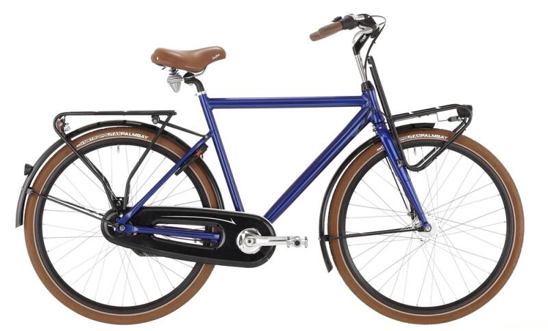 Bismarck Urban Herren Blau Citybike
