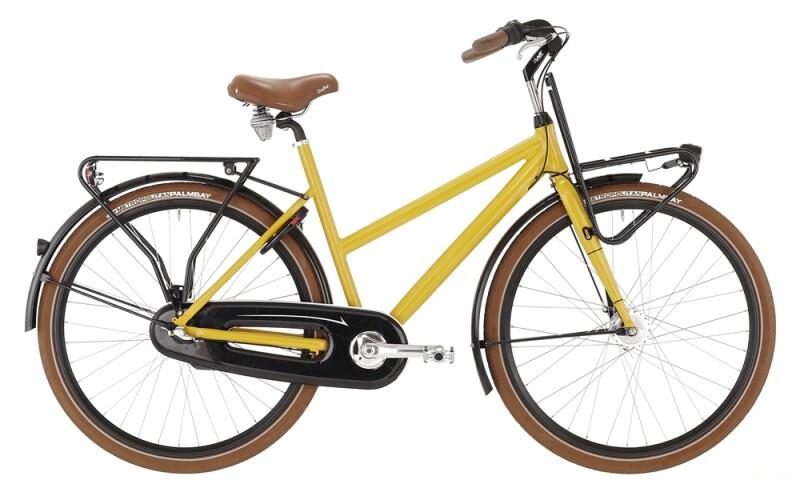 Bismarck Urban Trapez gelb Citybike