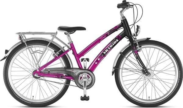 PUKY - Skyride 24-3 Alu pink/schwarz