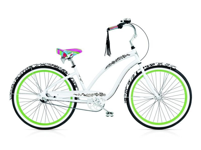 Electra Bicycle Blanc et Noir ladies