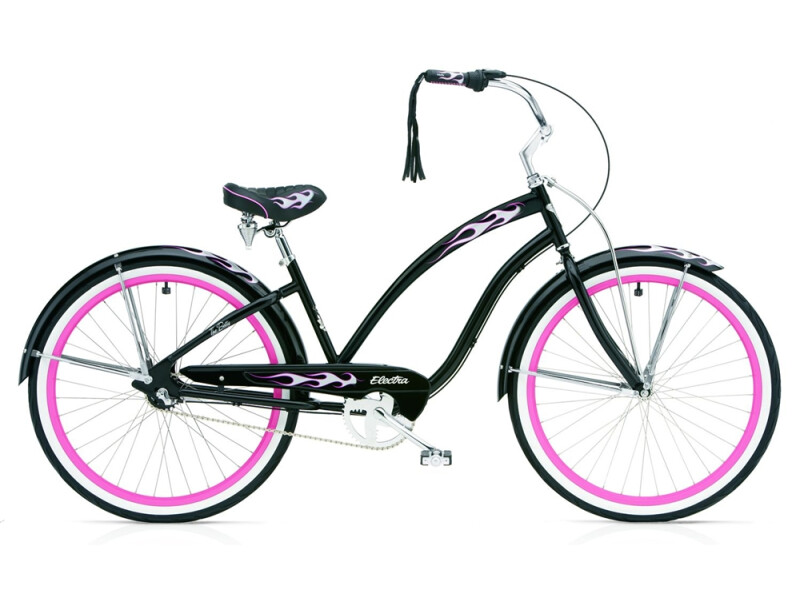 Electra Bicycle Black Betty 3i ladies