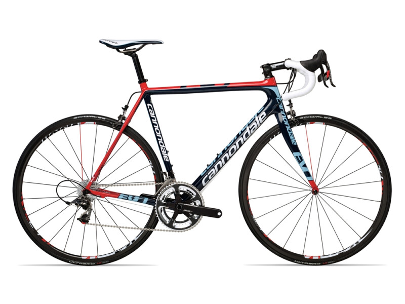 Cannondale SUPERSIX EVO RED RACING blue