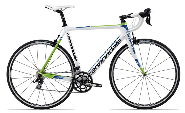 CANNONDALE - SUPERSIX 5 105 white