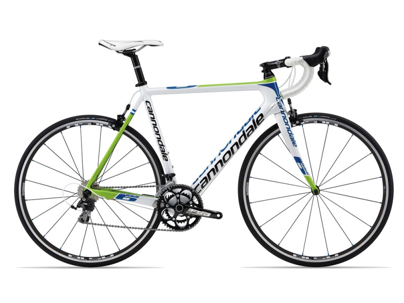 Cannondale SUPERSIX 5 105 white