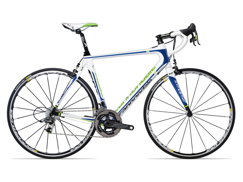 Cannondale SYNAPSE CARBON Hi-MOD 2 SRAM RED white
