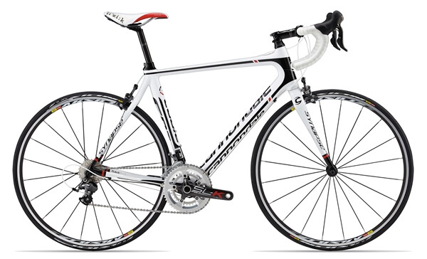 CANNONDALE - SYNAPSE CARBON 3 ULTEGRA white