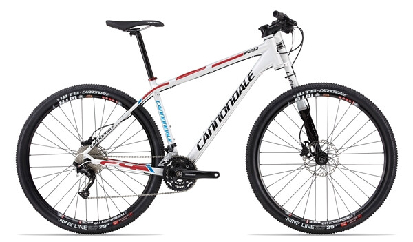 CANNONDALE - F29 2 white