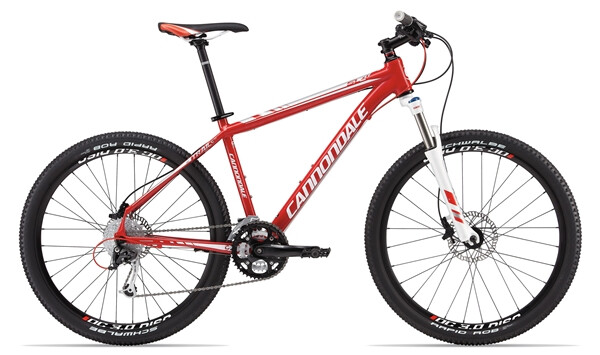 CANNONDALE - TRAIL SL 4 red
