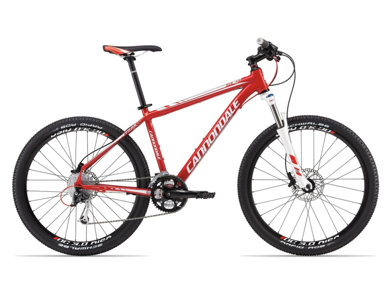 Cannondale TRAIL SL 4 red