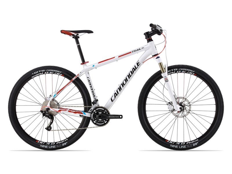 Cannondale TRAIL SL 29ER 1 white