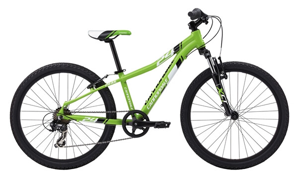 "CANNONDALE - BOY'S 24"" TRAIL 7 SPEED green"