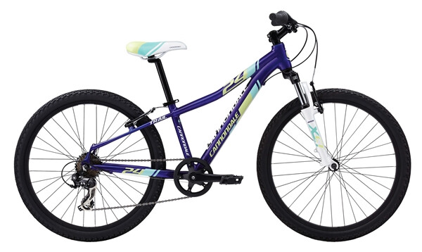 "CANNONDALE - GIRL'S 24"" TRAIL 7 SPEED"