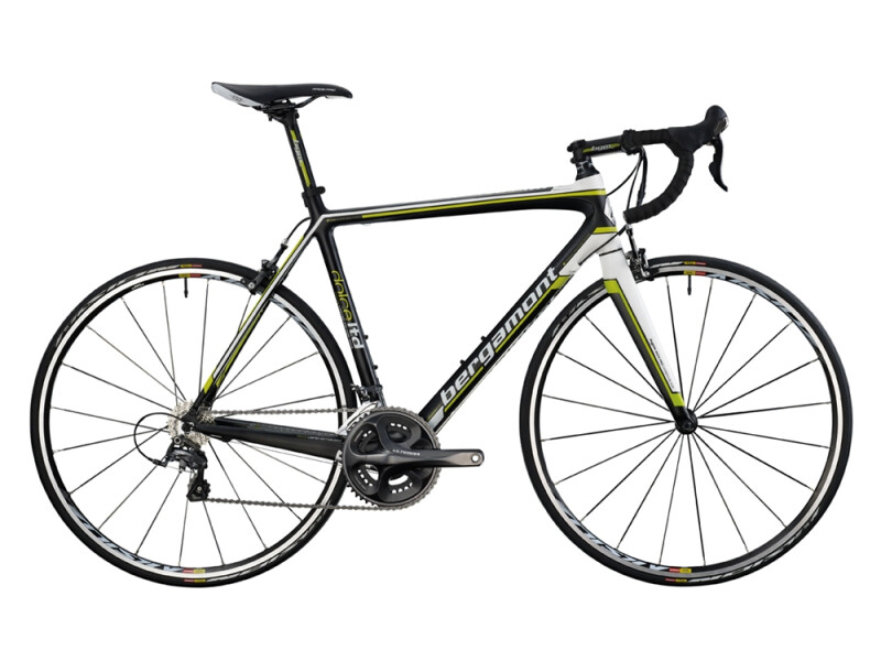 Bergamont Dolce LTD Compact carbon/white - lime