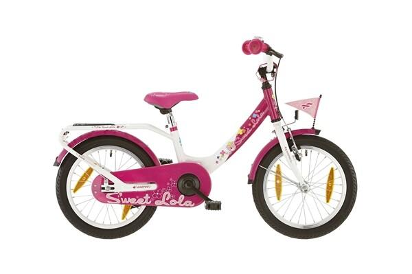 FALTER - Sweet Lola Alu Pink/Weiß