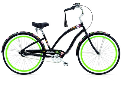 Electra Bicycle Sugar Skulls