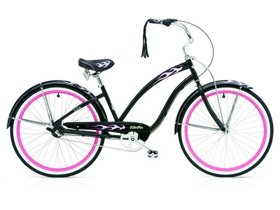 Electra Bicycle - Black Betty 3i ladies Angebot