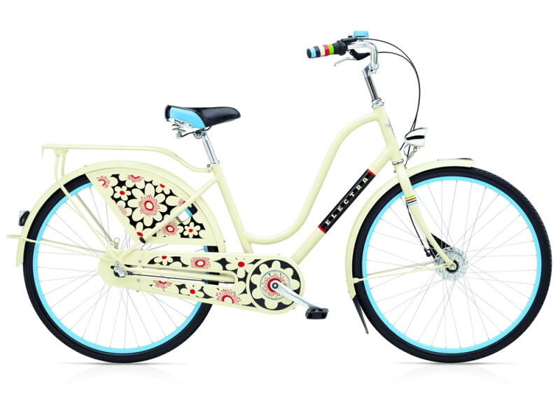 Electra Bicycle Amsterdam Fashion 3i Bloom ladies