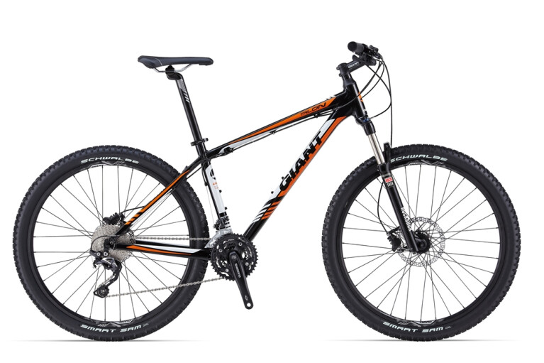GIANT Talon 2 black / orange