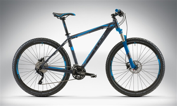 CUBE - ATTENTION 27.5 grey'n'black'n'blue