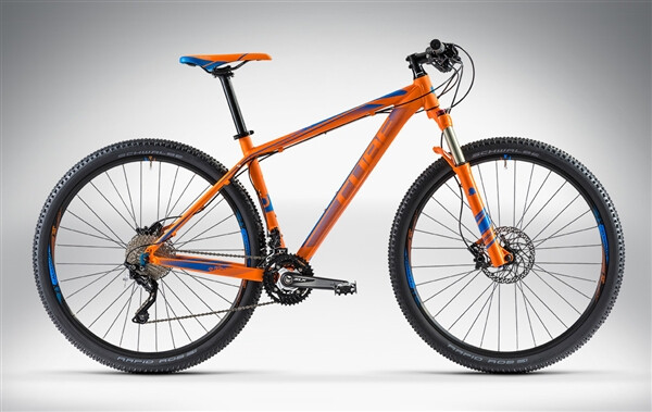CUBE - LTD PRO 29 orange'n'blue