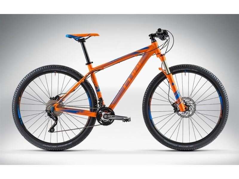 Cube LTD PRO 29 orange'n'blue