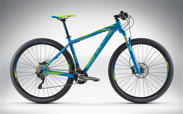 CUBE - LTD RACE 29 blue'n'green