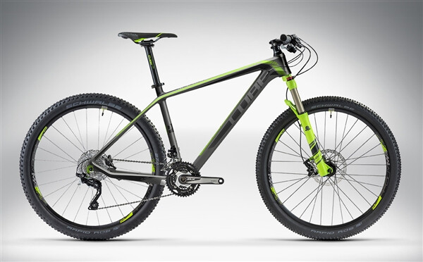 CUBE - REACTION GTC PRO 27.5 black'n'green