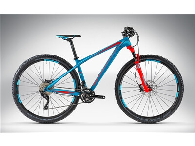 Cube ACCESS WLS GTC SL 27.5 / 29 blue'n'sea'n'flashred