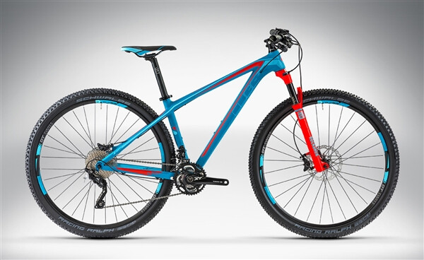 CUBE - ACCESS WLS GTC SL 27.5 / 29 blue'n'sea'n'flashred
