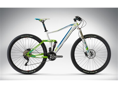Cube STING WLS 120 PRO 27.5 / 29 white'n'green'n'blue