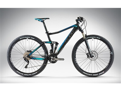 Cube STING WLS 120 RACE 27.5 / 29 black'n'blue