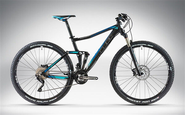 CUBE - STING WLS 120 RACE 27.5 / 29 black'n'blue
