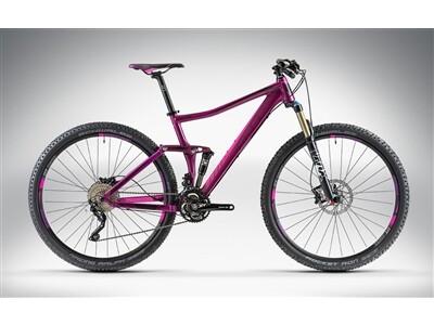 Cube STING WLS 120 SL 27.5 / 29 purple'n'pink