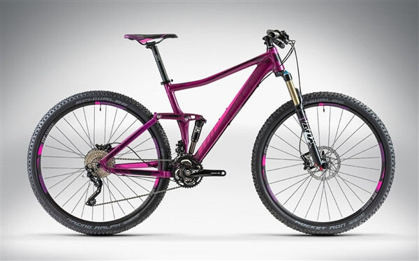 CUBE - STING WLS 120 SL 27.5 / 29 purple'n'pink