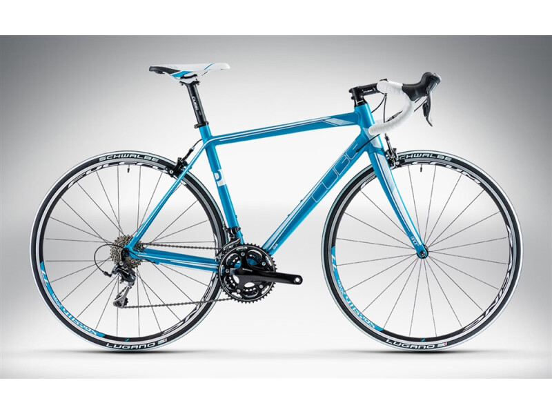 Cube AXIAL WLS PRO blue'n'white