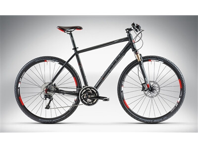 Cube TONOPAH RACE Black Anodized