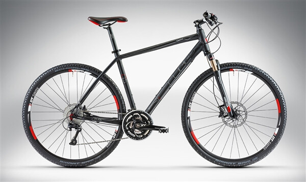 CUBE - TONOPAH RACE Black Anodized