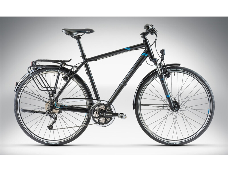 Cube TOURING Black Grey Blue